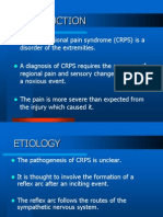 Studs Copy Complex Regional Pain Syndrome