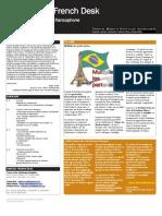 La Lettre du French Desk n. 7, maio. 2005. São Paulo