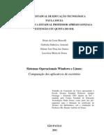 Sistemas Operacionais Windows e Linux