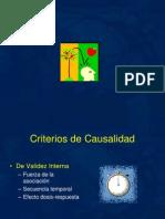 Criterios de Causalidad