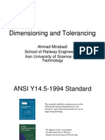 5Dimensioning and Tolerancing