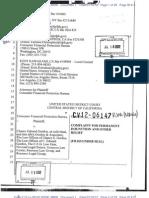 CFPB v. Chance Gordon et al - Complaint