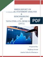 Ratio Analysis Report