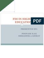 FDI in Higher Education Presentation