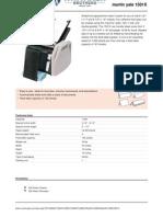 1501 x Paper Folder Spec Sheet