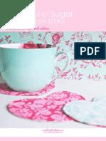 Teacup Coaster Free Sewing Pattern