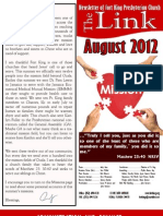 AUGUST 2012 LINK for Website