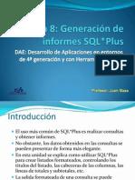 Informes SQL Plus