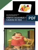 HÁBITOS SALUDABLES Y CALIDAD DE VIDA