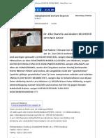 Dr. Elke Bartels Und Andere SECHSTER OFFENER BRIEF - News4Press.com - 24. Juni 2012