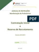dgae [mec] 2012_manual de intruções, manifestação de preferências [versão 25 julho]