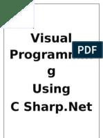 Visual C#.net Theory Notes