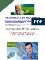 Ce Que Contiennent Les Vaccins