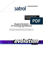 Skypatrol Evolution - TT8740AT001 - At Commands - Revision 1