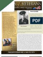 Voices of Veterans Newsletter Summer 2012