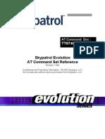 Skypatrol Evolution - TT8740AT001 - At Commands - Revision 1