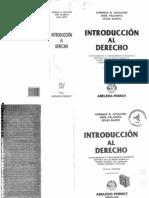 INTRODUCCION AL DERECHO - Aftalión Vilanova Raffo
