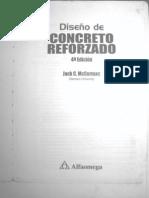 seleccion  importANTE INTRODUCCION  Diseño Concreto Reforzado 4 Ed. [Jack C. McCormac]
