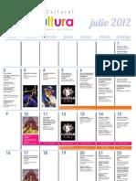 Agenda cultural de Lima Julio 2012