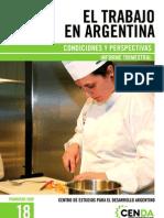 CENDA - Informe Laboral Nº 18