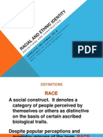 Racial and Ethnic Identity (GenEd 200)