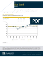 Canadian Value Fund 2QTR 2012