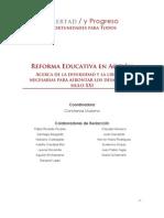 EDUCACION   Reforma Educativa en Acción - Libertad y Progreso