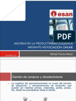 Mejoras en la productividad logística mediante negociación online - copia