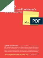 EDUCACION | Axel Rivas Cippec 2011