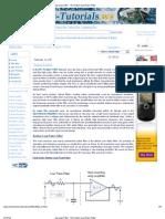 Op-Amp Filter - The Active Low Pass Filter