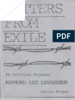 Letters From Exile by Political Prisoners (80 pages)