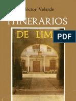 Itinerarios de Lima- Hector Velarde