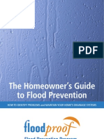 Homeowners' Flood Prevention Guide