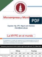 Microfinanzas y Microempresa