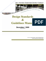 Design Standards & Guidelines Manual