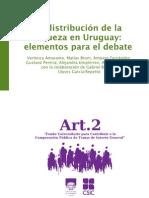 Distribucion de La Riqueza en Uruguay