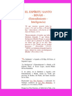 EL ESPÍRITU SANTO - BINÁH