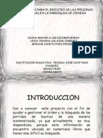 Base de Datos Para El Registro de Los Bautizados.............Proyecto
