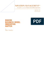 SNIUKAS, Marc - How to Make Business Model Innovation Happen