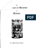 The Sanctuary of Memphis or Hermes; E.j. Marconis