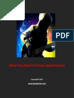 Guitars, Guitars And More Guitars