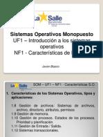 Sistemas Operativos Monopuesto UF1 - NF1 Parte 2 - Procesos