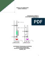 Manual de Laboratorio Química Orgánica I