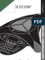 Audio Conferencing User Manual