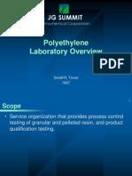 PE Laboratory Overview