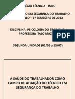 A Saúde do Trabalhador como política pública no Brasil