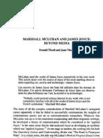 Marshall McLuhan and James Joyce