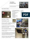 Bicycle Motor Plans Instructions Tire Roller Rear Friction Drive