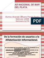 De La Formacion de Usuarios a La Alfin
