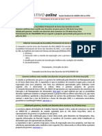Informativo Online n° 22
